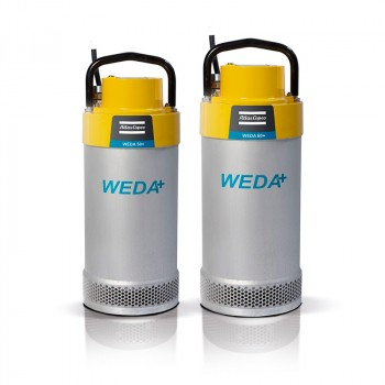Дренажный насос WEDA D50N 400В поплавок, под шланг