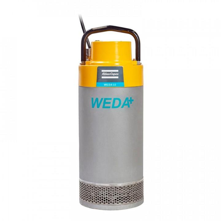 """Дренажный насос WEDA D70L 400В, под шланг 6"""""""