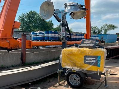 Отгрузили осветительную мачту Atlas Copco HiLight V4 для дорожно-строительных работ