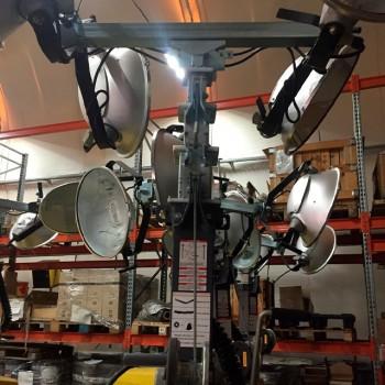 Осветительная мачта Б/У Atlas Copco V4 757 м/ч