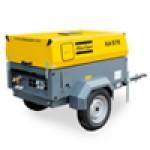 Электрические передвижные компрессоры: 7-25 бар/3-28,5 м3/мин